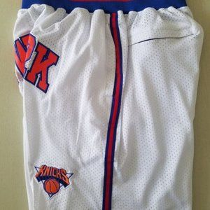 New Just Don New York Knicks Basketball Shorts